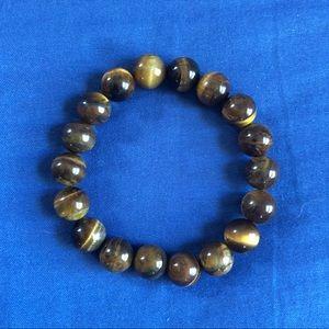 Other - Tigers Eye Stone Mala Bead Bracelet